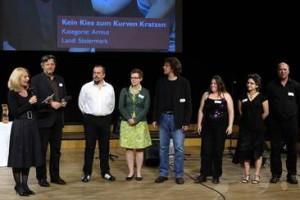 Preisverleihung SozialMarie 2010 Unruhe Privatstiftung