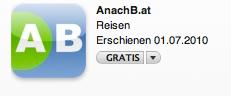 AnachB.at Logo fürs iPhone