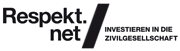 Logo Investieren in die Zivilgesellschaft respekt.net