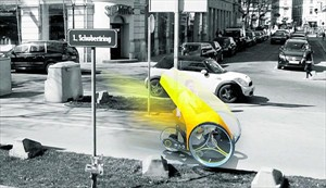 Dreirad mit Elektromotor und Pedalantrieb